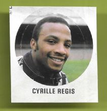 West Bromwich Abion Cyrille Regis (VB)